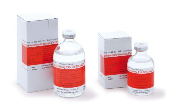 Isotonische Natriumchlorid-Lösung 0,9 % 1 x 50 ml
