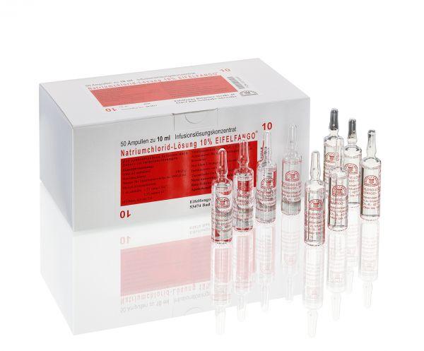 Natriumchlorid-Lösung 10 % 50 x 10 ml