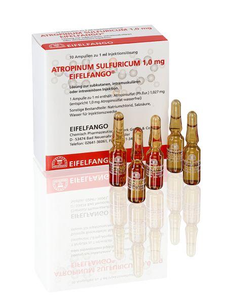 Atropinum sulfuricum 1,0 mg 10 x 1 ml