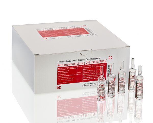 Natriumchlorid-Lösung 20 % 100 x 10 ml