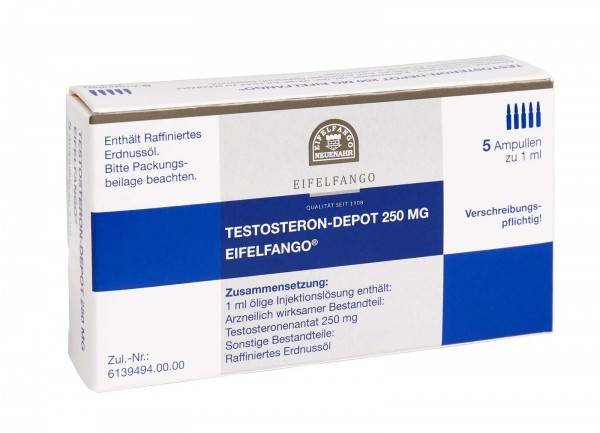 Testosteron-Depot 250 mg 5 x 1 ml