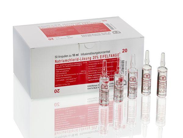 Natriumchlorid-Lösung 20 % 50 x 10 ml