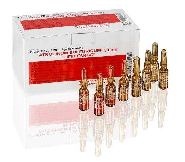 Atropinum sulfuricum 1,0 mg 50 x 1 ml