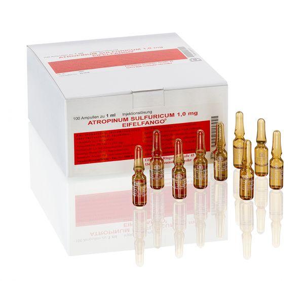 Atropinum sulfuricum 1,0 mg 100 x 1 ml