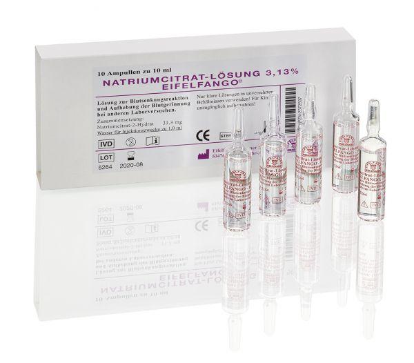 Natriumcitrat-Lösung 3,13% 10 x 10ml