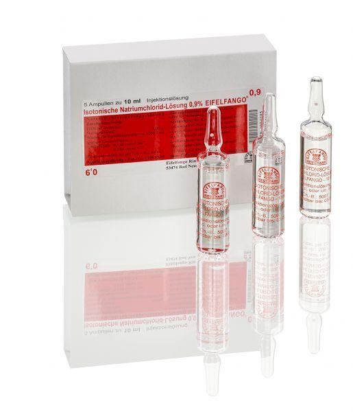 Isotonische Natriumchlorid-Lösung 0,9 % 5 x 10 ml