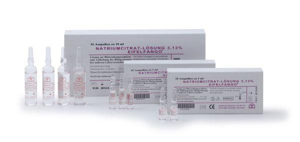 Natriumcitrat-Lösung 3,13% 100 x 10ml
