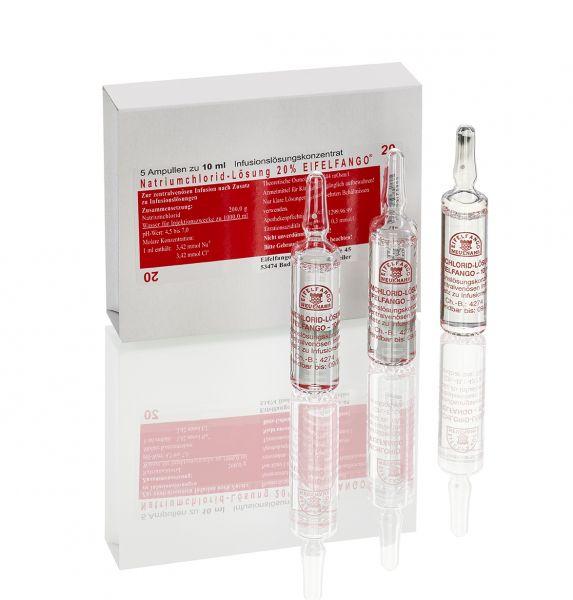 Natriumchlorid-Lösung 20 % 5 x 10 ml